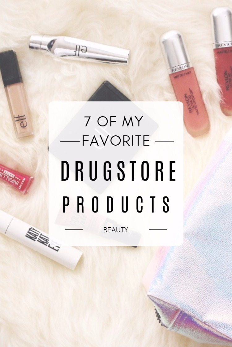 7 Favorite Drugstore Products