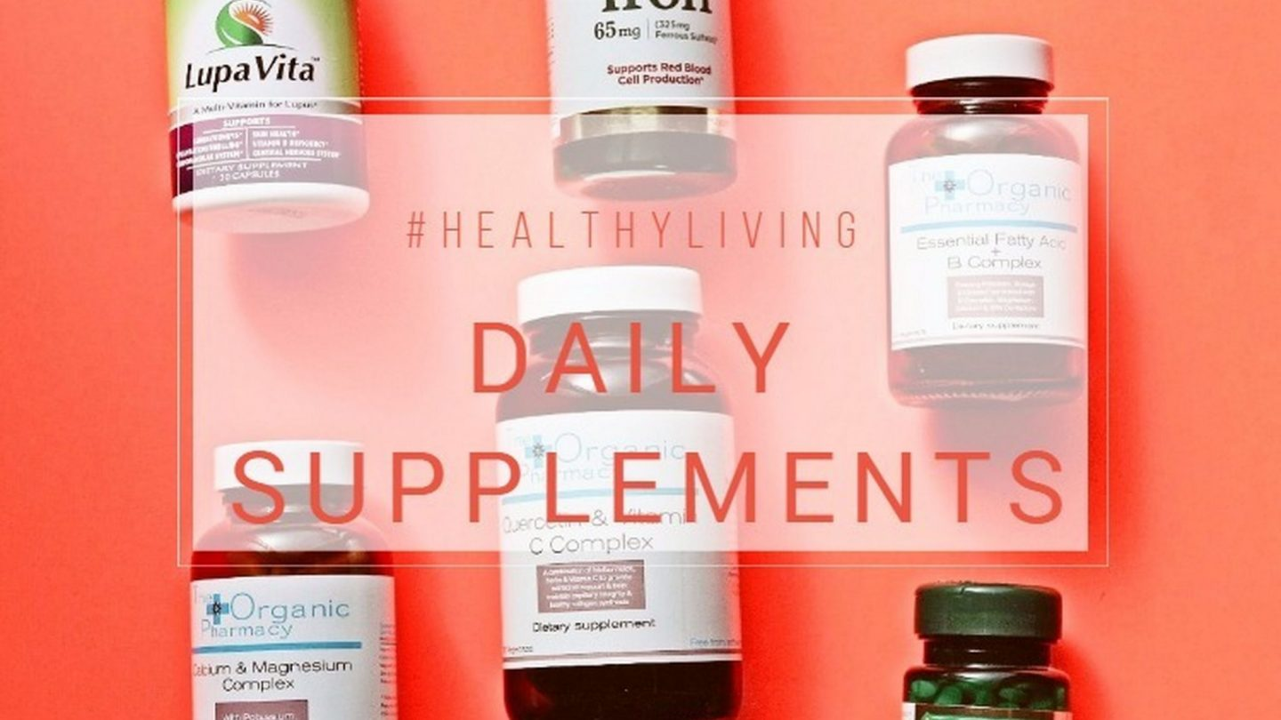 My daily supplement guide | #healthyliving